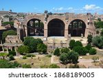 The Basilica Of Constantine In...