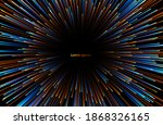 abstract background neon glow... | Shutterstock .eps vector #1868326165