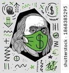 dec. 5  2020  benjamin franklin.... | Shutterstock .eps vector #1868385295