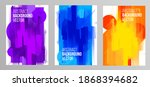 minimalistic stylish geometry...   Shutterstock .eps vector #1868394682