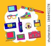 nostalgia of certain things ...   Shutterstock .eps vector #1868402278