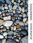 Variety Of Smooth Ocean Rocks...
