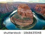Horseshoe Bend In Arizona Usa