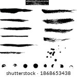 vector collection of hand drawn ... | Shutterstock .eps vector #1868653438