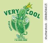 the vector vintage cartoon...   Shutterstock .eps vector #1868656615