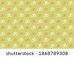 om sign seamless pattern....   Shutterstock .eps vector #1868789308