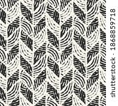 ink drawn ethnic ornate... | Shutterstock .eps vector #1868859718