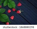 Raspberry. Fresh Beautiful  Red ...