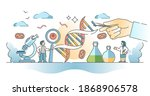 biology science and research... | Shutterstock .eps vector #1868906578