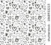 hand drawn background with... | Shutterstock .eps vector #1868933215