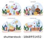 bartender concept set. barman...   Shutterstock .eps vector #1868951452
