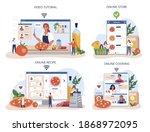 pizza maker online service or... | Shutterstock .eps vector #1868972095