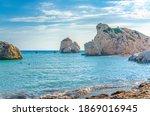 Aphrodite Beach With Stone...