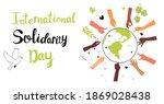 international human solidarity...   Shutterstock .eps vector #1869028438