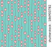 seamless pattern of stylized... | Shutterstock .eps vector #186903782