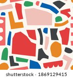 abstract vector pattern with... | Shutterstock .eps vector #1869129415
