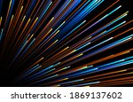 Abstract Background Neon Glow...
