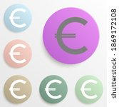 euro badge color set. simple...