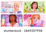 video player interface. beauty...   Shutterstock .eps vector #1869207958