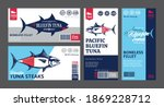 Vector Tuna Labels And...