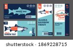 vector trout labels and... | Shutterstock .eps vector #1869228715