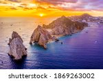 Aerial View Of Land's End  Cabo ...