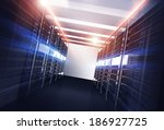 Datacenter Servers Alley...