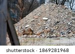 Building Debris From A Former...