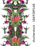 seamless pattern with...   Shutterstock .eps vector #1869289168