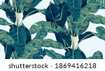 botanical seamless pattern ... | Shutterstock .eps vector #1869416218