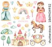 Cute Princesses  Castle ...