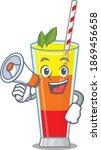 mascot design of tequila... | Shutterstock .eps vector #1869456658