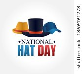 vector graphic of national hat... | Shutterstock .eps vector #1869491278