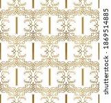 golden initial seamless pattern ... | Shutterstock .eps vector #1869514885