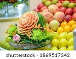 Fruit And Vegetable Carvings ...