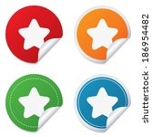 star sign icon. favorite button....