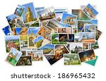 Pile Of Photo\'s With Travel...