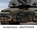 British Army Tank On Maneuvers