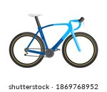 road bicycle  isolated vector...   Shutterstock .eps vector #1869768952