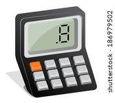 calculator | Shutterstock .eps vector #186979502
