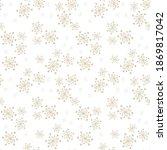 Golden Vector Seamless Pattern...