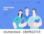 medical insurance  internship... | Shutterstock .eps vector #1869822715