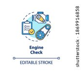 engine check concept icon.... | Shutterstock .eps vector #1869916858