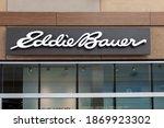 Eddie Bauer Store Sign Is Seen...