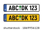 german car license plate...   Shutterstock .eps vector #1869956128