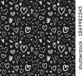 hand drawn background with... | Shutterstock .eps vector #1869982345