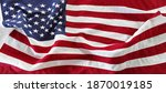 close up of rippled american... | Shutterstock . vector #1870019185