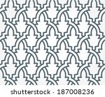 arabic seamless pattern   Shutterstock .eps vector #187008236