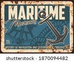 Maritime Museum Metal Rusty...