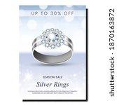 silver rings creative...   Shutterstock .eps vector #1870163872